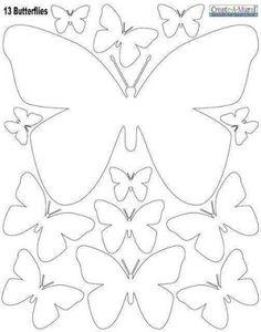 más y más manualidades: Aprende como hacer un móvil de mariposas