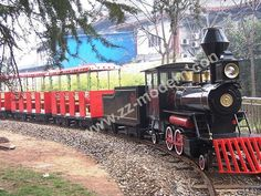 #Modern amusement_train tracks made further improvements, looks really do have a kind of feeling of the train  http://www.modern-park-rides.com/amusement-park-trains/trackless-train.html