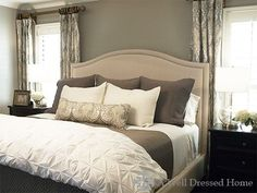 Example of how the beds should look for the photos & all showings. #BeddingIdeasMaster
