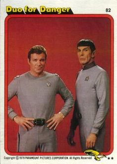 1979 Topps Star Trek: The Motion Picture Duo for Danger Star Trek Rpg, Star Trek Meme, Star Trek Show, Star Trek Series, Star Wars, Star Trek Merchandise, Star Trek Characters, Leonard Nimoy, William Shatner
