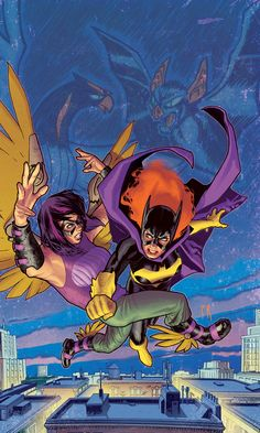 """Batgirl in """"Movement"""" by Stephane Roux"""