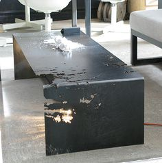 Commute Home - rolled steel coffee table