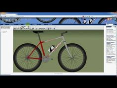 Using the BikeCAD.ca website to save and browse bicycle designs.