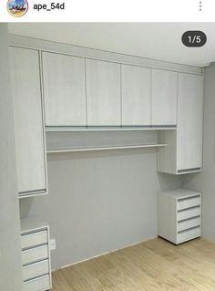 Wardrobe Design Bedroom, Bedroom Cupboard Designs, Bedroom Cupboards, Small Bedroom Designs, Small Bedroom Storage, Small Room Bedroom, Closet Bedroom, Bed Storage, Bedroom Furniture