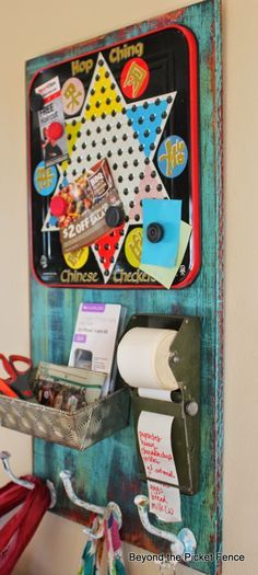 Fun, Junky Message Board http://bec4-beyondthepicketfence.blogspot.com/2014/04/fun-junky-message-board.html