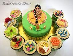 Baby Shower Cake Designs, Baby Shower Cakes, Cake Decorating Videos, Birthday Cake Decorating, Sunflower Wedding Decorations, Flower Decorations, Themed Birthday Cakes, Themed Cakes, Return Gifts Indian