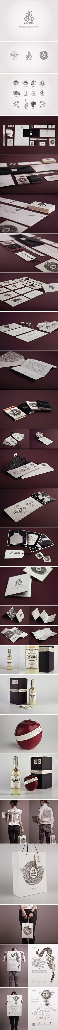 Ab ovo identity, Identity © Шкаровская Ирина #packaging #branding #marketing