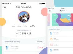 Mobile Bank UI