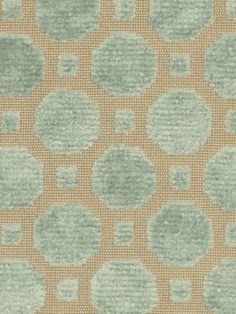 Velvet Aqua Upholstery Fabric