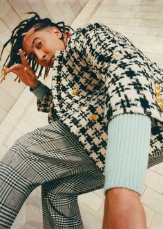 Rap artist Ghali appears in the new film part of 'The Performers' video series. Mon Combat, Liquid Dreams, Guccio Gucci, Gucci Gifts, Alessandro Michele, Sound Design, Short Film, Gq, Menswear