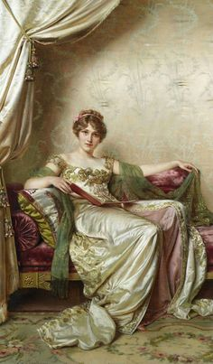 You can see the attitude in her eyes ;-)  The Athenaeum - Elegante (Charles Joseph Frederick Soulacroix - )