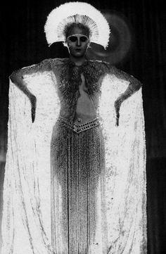 Brigitte Helm in Metropolis by Fritz Lang, 1927