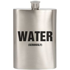 It's totally water... not whisky. Water bottle flask design great for drinking in public, bachelor parties, spring break, humor, funny, and partying.