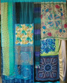 The Road to Mandalay  GYPSY CURTAINS by BabylonSisters on Etsy