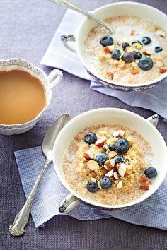 Rise and Shine Breakfast Recipes: Lemon-Blueberry Quinoa Porridge