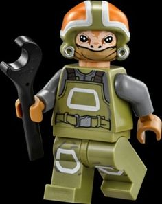 Resistance Ground Crew- Star Wars: The Force Awakens 2015 -Resistance Ground Crew also known as Goss Towers is a Star Wars minifigure that was released in September 2015. 75102 Poe's X-Wing Starfighter