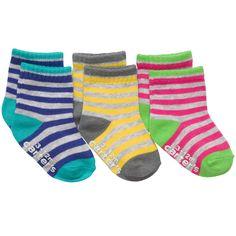 3-Pack Stripe Socks | Accessories Socks, Booties & Mittens