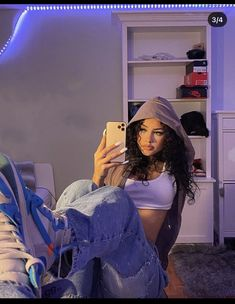 Teen Fashion Outfits, Retro Outfits, Look Fashion, Outfits For Teens, Girl Outfits, Baddie Outfits Casual, Cute Swag Outfits, Trendy Outfits, 00s Mode