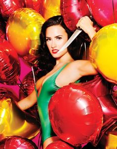 Demi Lovato poses completely topless for Complex magazine (mildly NSFW)