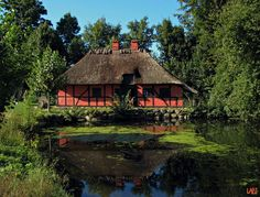 Our old villages and building styles - Frilands museet - Open air museum just outside copenhagen