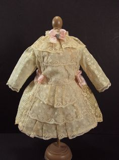 antique doll clothes | Uploaded to Pinterest
