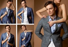 Tailored suits for any occasion Tudor Tailor, Tailored Suits, Gentleman, Spring Summer, Costume, Blazer, Pants, Jackets, Men
