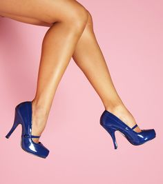 Cutiepie Mary Jane in Navy Patent - The classic patent mary jane is a retro staple and can be paired up with just about anything.  Available in basic solid colors - you'll want one of each!
