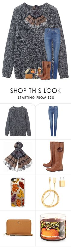 """""""idk what to think of today🤷"""" by lovelyelegantgirl ❤ liked on Polyvore featuring Toast, Levi's, Barbour, Casetify, PhunkeeTree, Tory Burch and S'well"""