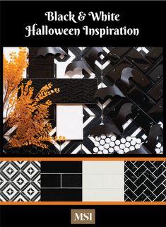 Black & White Halloween inspiration