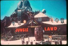Jungleland attraction on Front Beach Rd.  Panama City Beach, Florida by stevesobczuk, via Flickr