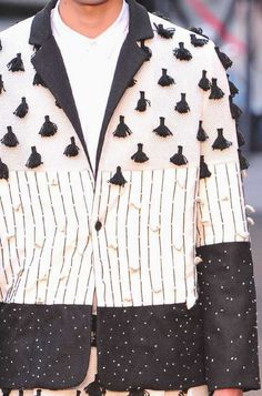 patternprints journal: PRINTS, PATTERNS AND DETAILS FROM RECENT PARIS FASHION WEEK (MENSWEAR SPRING/SUMMER 2015) / 5