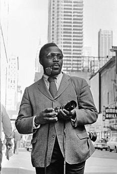 Don Hogan Charles  was the first African-American photographer hired by The New York Times. He was credited with hundreds of photos at The Times, including many of those turbulent moments during the Civil Rights Movement.