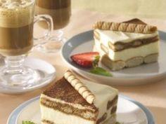 Tiramisu for Czech Republic Czech Recipes, Ethnic Recipes, Ice Cream Candy, Tiramisu, Dessert Recipes, Desserts, Cake Cookies, No Bake Cake, Czech Food