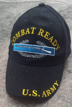 U.S. Army Combat Ready Baseball Cap - Meach's Military Memorabilia & More