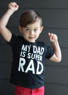 DIY Father's Day t-shirt with free printable iron on, stencil template, and cricut compatible file!