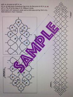 PDF file shuttle tatting pattern for Flower Lady di Shannhob