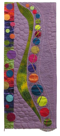 """Jan Hearn- """"Circle Play 1"""" It's the circles again... cannot resist the play of opposites"""