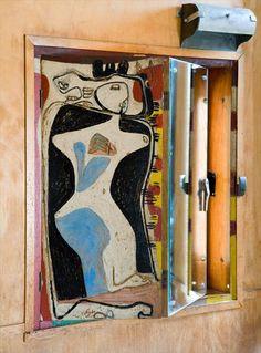 Дача «Сарай Ле Корбюзье» (Cabanon Le Corbusier), Roquebrune-Cap-Martin, Франция. 1951