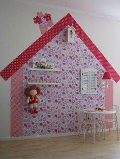 behanghuisje voor meisjesslaapkamer