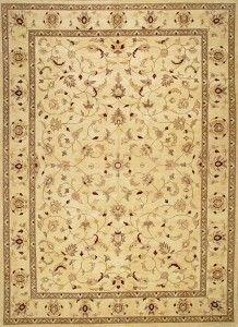 Rugsville Peshawar 5th Avenue Beige Wool Rug - £1,820.00