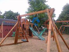 How I Built My Own Backyard Swing Set – Part 1