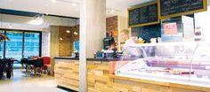 LEMAYMICHAUD   INTERIOR DESIGN   ARCHITECTURE   QUEBEC   Mamie Clafoutis   Restaurant   Bakery Restaurant, Architecture, Design, Arquitetura, Diner Restaurant, Restaurants, Architecture Design, Dining