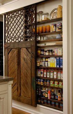 organisieren sie ihre speisekammer regale haus idee | küche ... - Buro Mobel Praktisch Organisieren Platz Sparen