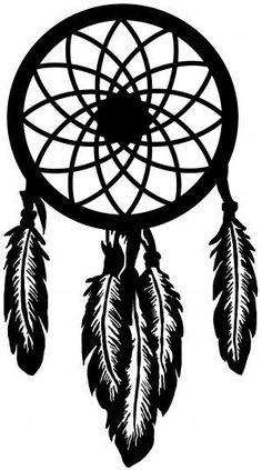 Dream Catcher vinyl decal/sticker feathers BoHo free spirit    eBay