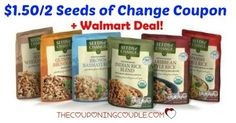 Love the Seeds of Change Rices? You will love this deal at Walmart (or your favorite store!) Get Seeds of Change Rice Packets for only $1.73!  Click the link below to get all of the details ► http://www.thecouponingcouple.com/1-501-seeds-of-change-product-coupon-0-98-rice-walmart/ #Coupons #Couponing #CouponCommunity  Visit us at http://www.thecouponingcouple.com for more great posts!
