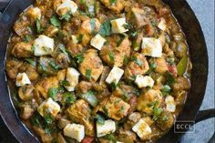 Dry and quick capsicum paneer recipe