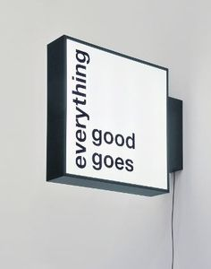 Everything good goes to shit retail branding, retail signage, retail logo, shop signage Shop Signage, Signage Display, Retail Signage, Wayfinding Signage, Signage Design, Inspire Me Home Decor, Shop Interior Design, Retail Design, Led Neon