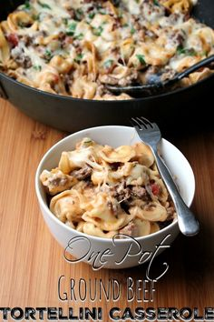This skillet ground beef casserole meal will soon make it in to your regular meal rotation because it's totally family friendly and easy to prepare!