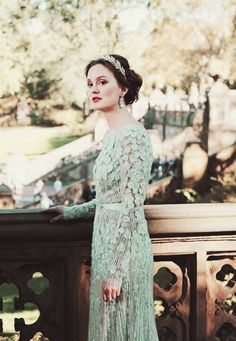 Blair Waldorf in Elie Saab (6.10 New York I Love You XOXO)