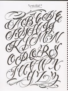 R Graffiti Letters Chicano Lettering Alph...